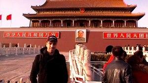 Nel 2013 a Tian An Men, al centro del centro, dove i cinesi tengono ancora il cadavere...