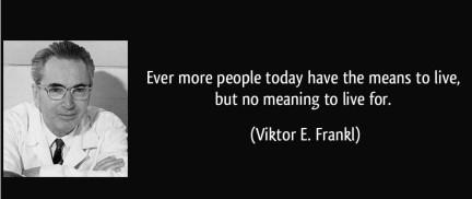 Sempre più persone oggigiorno hanno cose significative, ma alcun senso nella vita